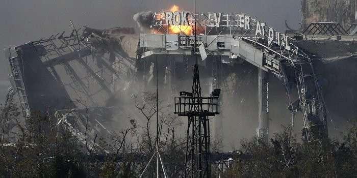 Киевские каратели пытались отвоевать Донецкий аэропорт