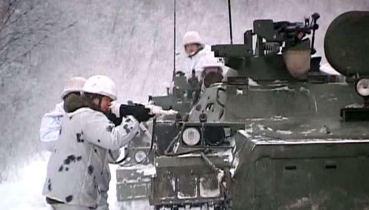 В России появилась первая арктическая мотострелковая бригада