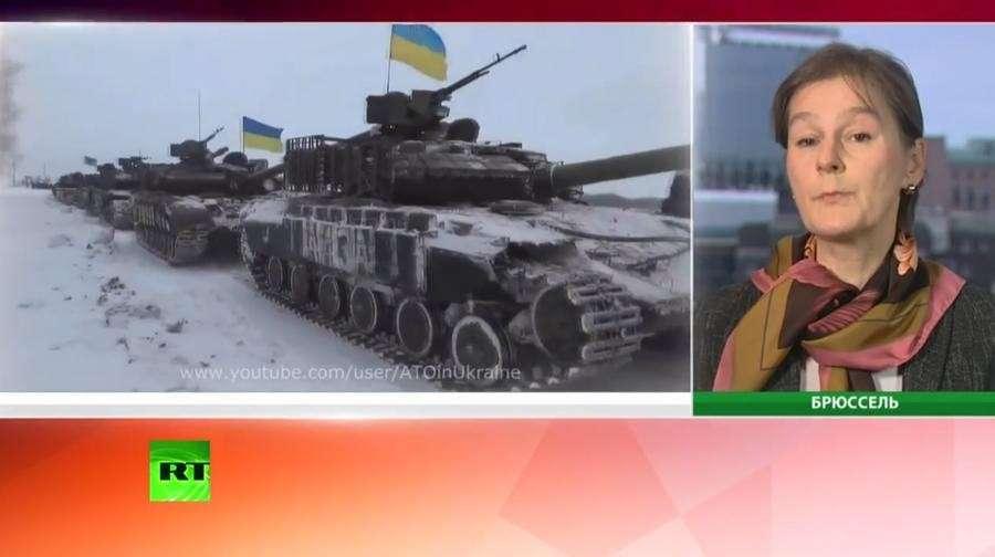 События в Донецке связаны с резолюцией Европарламента по Украине
