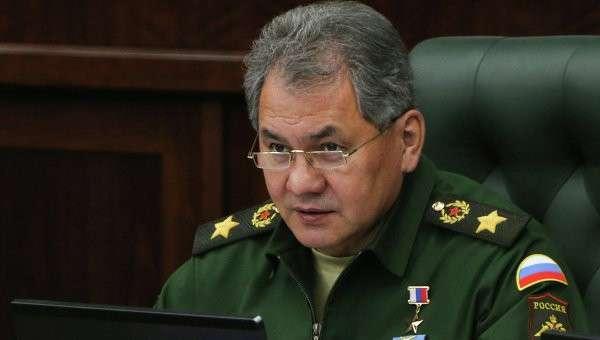 Министр обороны Сергей Шойгу. Архивное фото