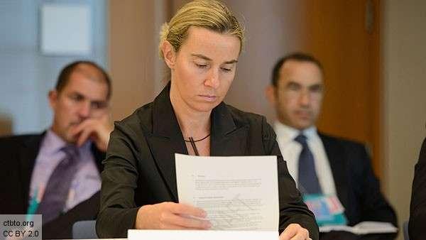 Федерика Могерини, еврокомиссар по иностранным делам и политике безопасности