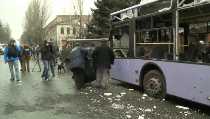 Диверсанты, обстрелявшие остановку в Донецке, задержаны
