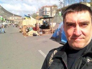 Прогулка блогера по Майдану в Киеве