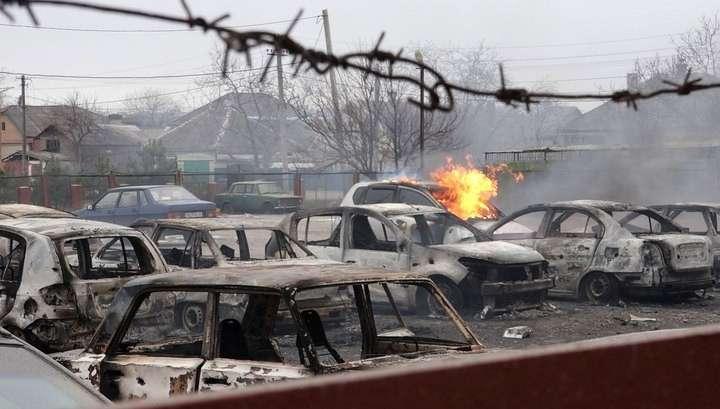 Захарченко: Киев сам расстрелял Мариуполь из «Градов»