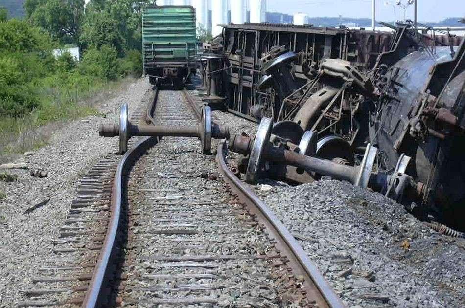 Каратели ошиблись поездом