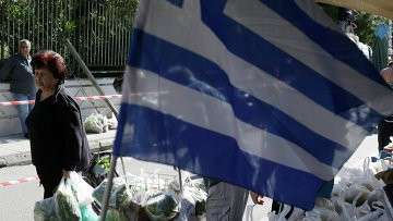 Рынок в Афинах, Греция. Архивное фото