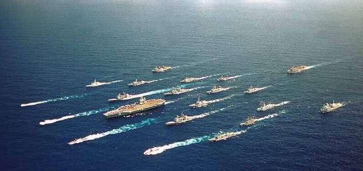 Эскадра США