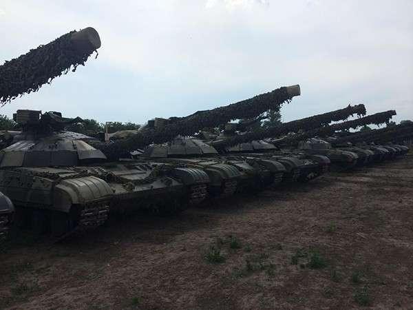 Каратели замуровали украинских танкистов в танках и оставили умирать