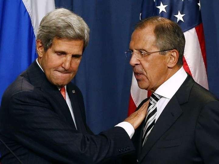 Пародия: Встреча Сергея Лаврова и Джона Керри