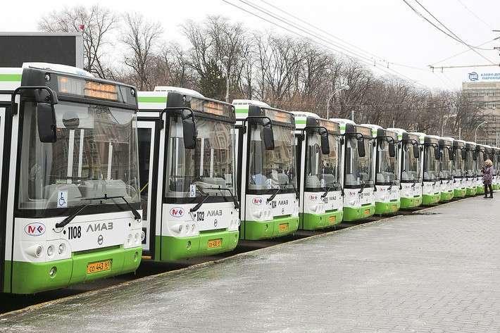 На улицы Ростова-на-Дону вышли 50 новых автобусов ЛиАЗ