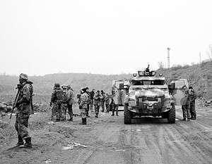 Украинские силовики покидают район Дебальцевского выступа