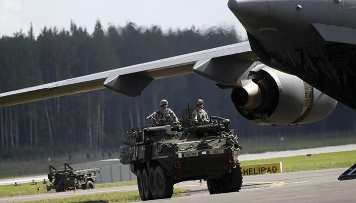 Строительство секретных баз НАТО в Польше