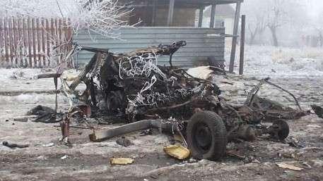 Танковый прорыв под Донецком: украинские войска стреляют во все подряд