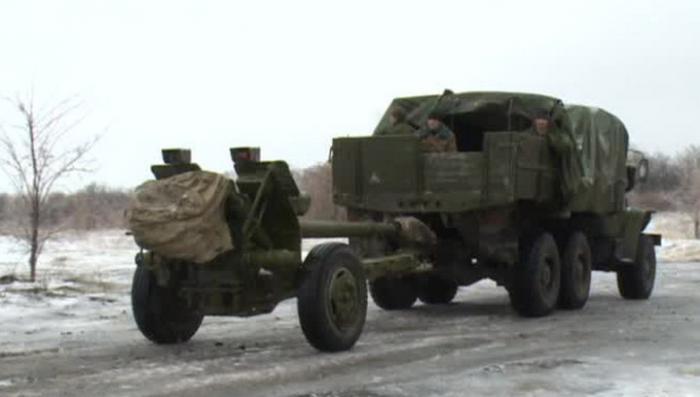 Ополченцы взяли под контроль Углегорск