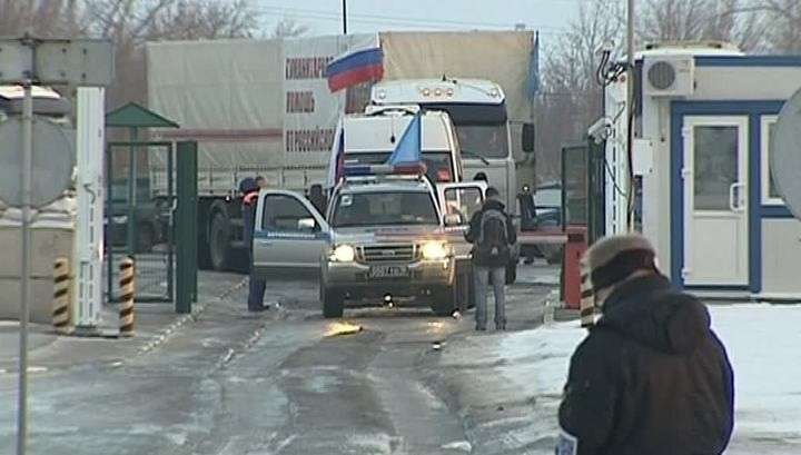 Грузовики МЧС России прибыли в Луганск и Макеевку