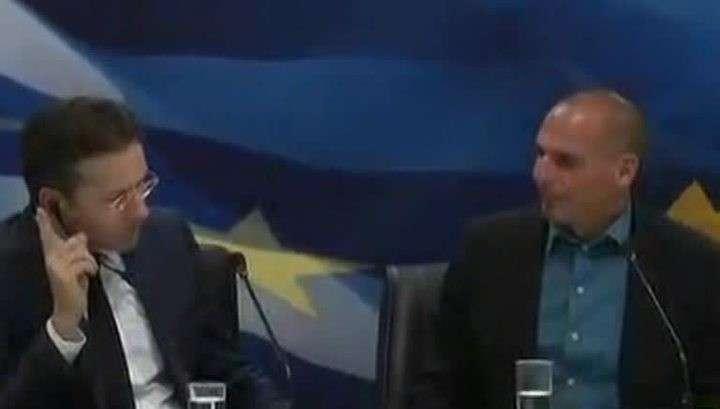 Глава Еврогруппы и министр финансов Греции поссорились на переговорах