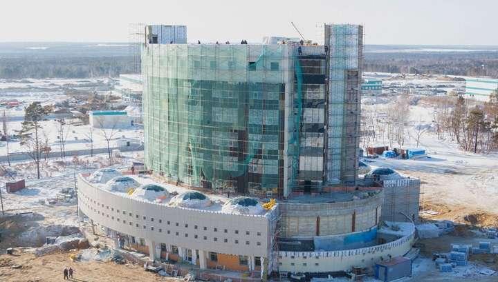При строительстве космодрома Восточный растратили 13 миллиардов