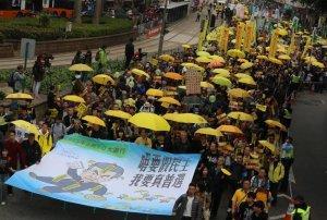 В Гонконге возобновились многотысячные акции протеста