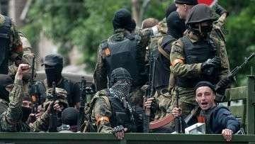 Украинские силовики в Мариуполе. Архивное фото