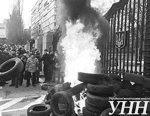 Очередные беспорядки в Киеве эксперты считают сигналом общей слабости центральной власти