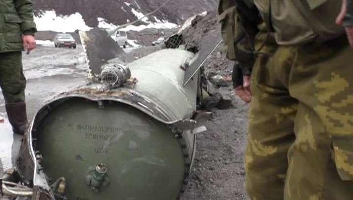 Ополченцы передадут ОБСЕ фрагменты ракеты Точка-У