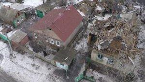 Ополченцы эвакуируют мирных жителей из Углегорска