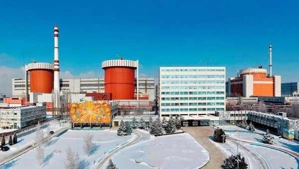 Южно-Украинская АЭС. Архивное фото