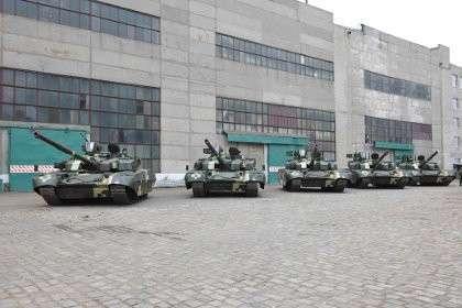 Украина хочет увеличить выпуск танков в 2016 году в 25 раз - с 5 до 120 единиц в год