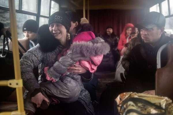 Генсек ООН поддерживает немедленную эвакуацию жителей Дебальцево