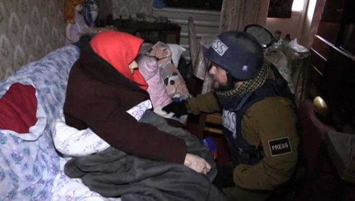 Съёмочная группа ВГТРК помогала вывозить мирных жителей из Углегорска