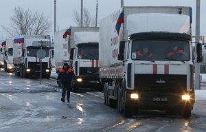 Россия отправит очередной гуманитарный конвой на юго-восток Украины 8 февраля