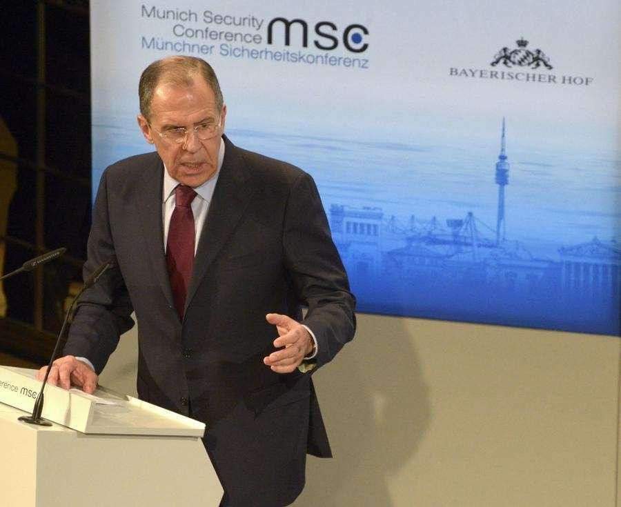 Выступление Сергея Лаврова на Мюнхенской конференции по безопасности — прямая трансляция