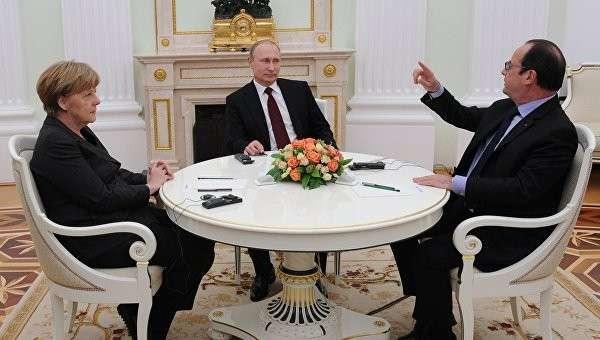 Олланд: В случае провала переговоров по Украине будет война