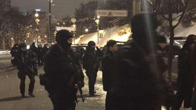 У здания правительства Украины произошла драка со стрельбой