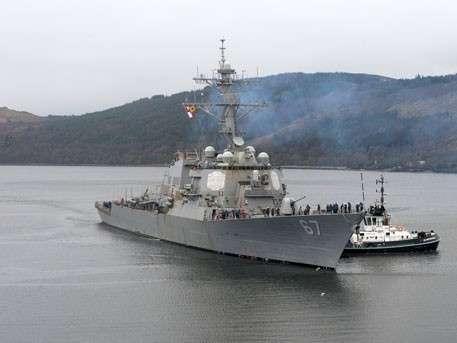 К берегам Крыма идёт очередной ракетный смельчак из США