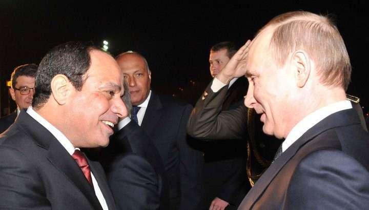 Владимир Путин посетил Каирскую оперу
