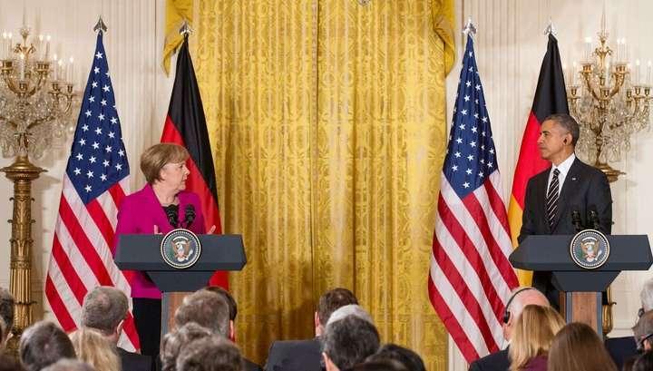 Баран Обама: санкции Запада против России должны сохраняться