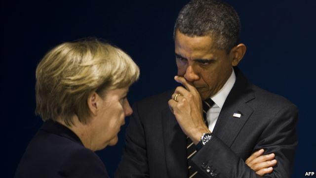 В чём действительно Меркель переговорила Обаму?