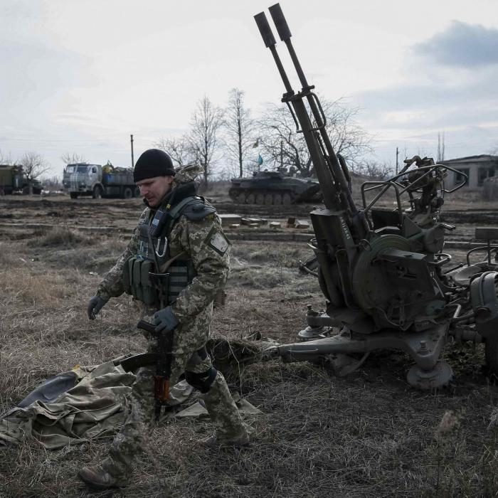 Украинские военные перешли в наступление на Новоазовск