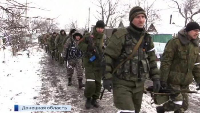Украинские каратели в Дебальцево пытаются прорвать позиции ополченцев