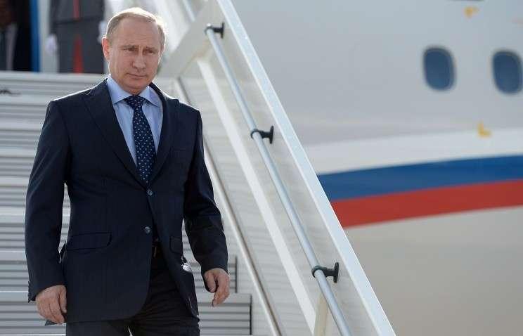 Владимир Путин направляется с визитом в Минск для участия в переговорах в «нормандском формате»