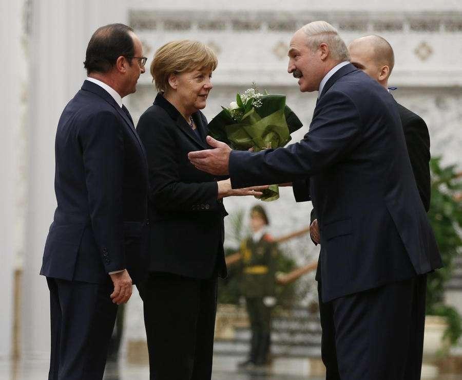 Лидеры «нормандской четвёрки» собрались на переговоры в Минске