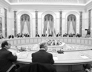 Переговоры лидеров «нормандской четверки» в Минске завершились