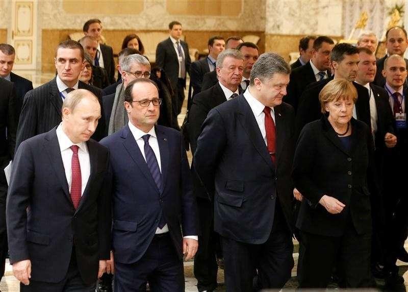 Участники расширенного состава «нормандской четвёрки» продолжают переговоры в Минске
