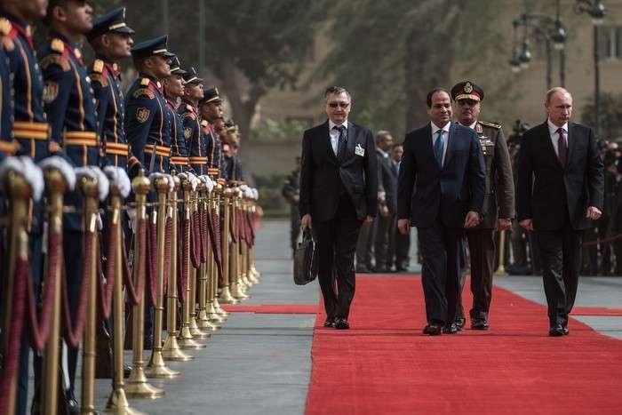 Путин нажал на курок и разбудил Египет