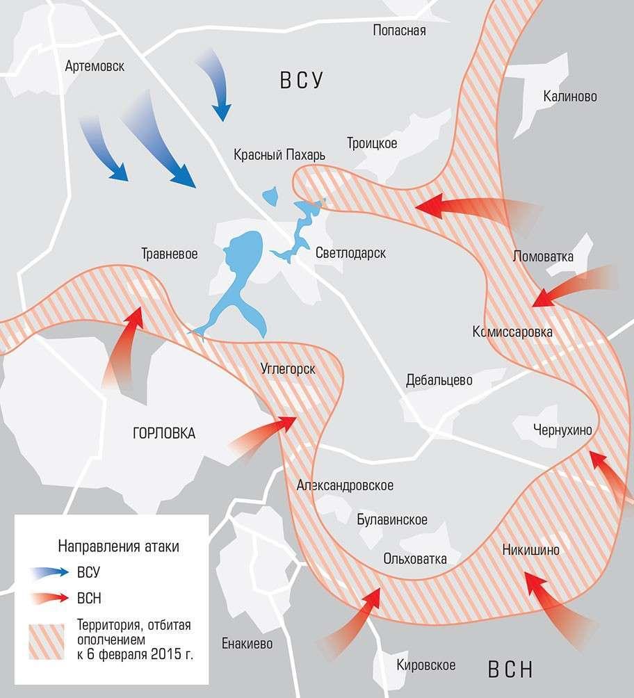 О недавних боях в Новороссии и их сравнение со сражениями прошлого