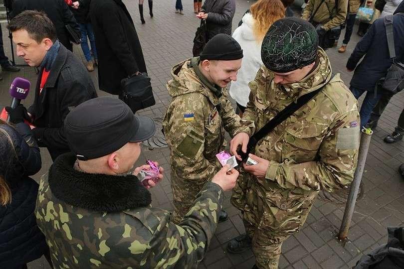 В Киеве прошёл Марш презервативов