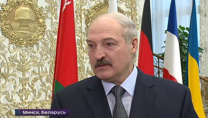 Лукашенко накормил борщом нормандскую четвёрку