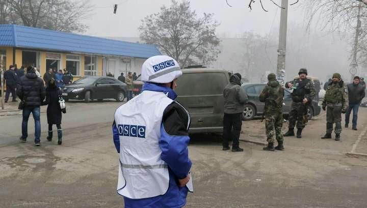 ОБСЕ: после объявленного перемирия Луганск обстреливали