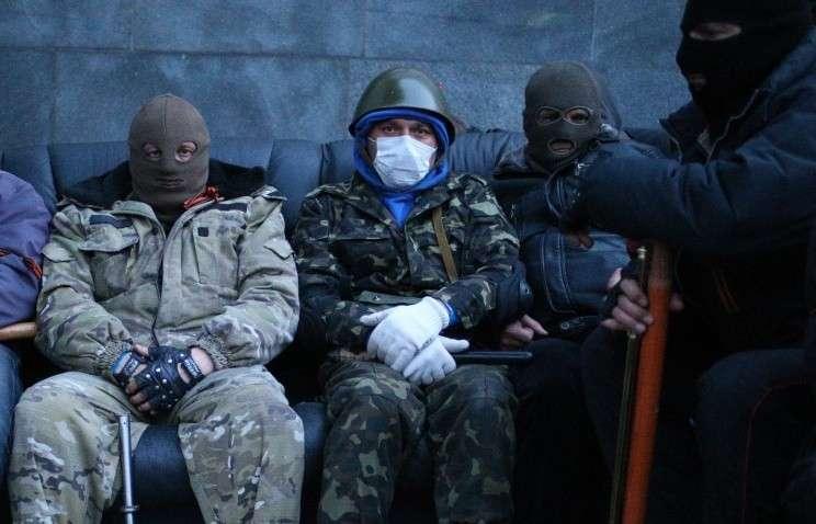 В Донецкой области неизвестные захватили отдел милиции